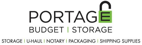 portage budget storage logo